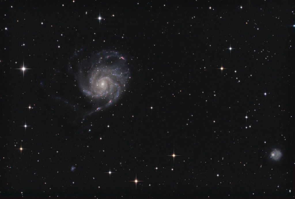 M101 (Ursa Major) Widefield