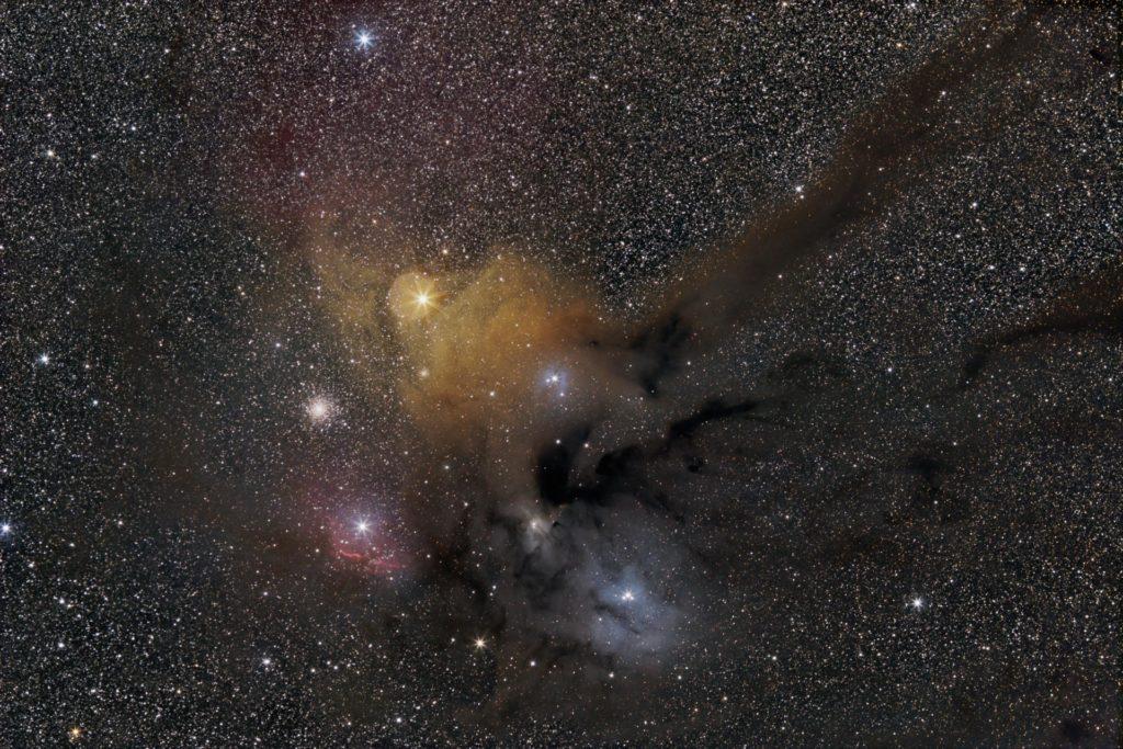 rho Ophiuchi region (Scorpius)