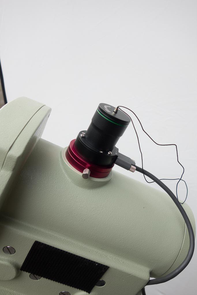 QHY PoleMaster auf EM400 mit Schutzdeckel